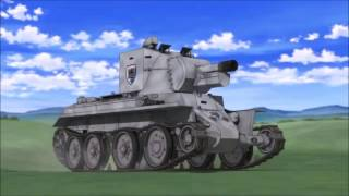 Girls und panzer Vodka The angry russian version