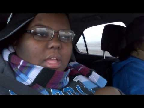 Me and My Mom Vlogging part 2(Car Craziness,Rapping,Sleep)