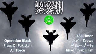 2017 Black Banners of Khorasan is the Powerful Black Jets Fighters | Ops Black Flag Greater Pakistan