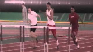 Ramsey Hopkins Josiah Sims Aric Walden FEB hurdle practice