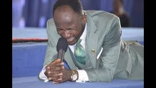 SEE WHAT HAPPENED as  Apostle Johnson Suleman Began to WORSHIP