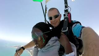 Tandem Skydiving Video - Skydive Jurien Bay - Monica Adut Akech