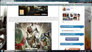 How To Install Teenage Mutant Ninja Turtles Out Of The Shadows