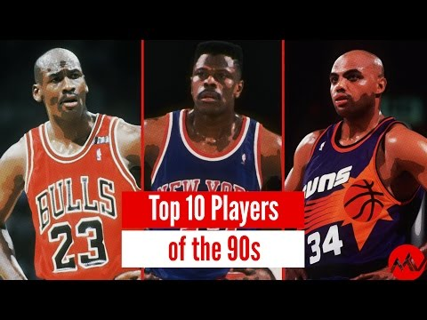 Top 10 Greatest NBA Players of the 90s