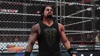 SHINSUKE NAKAMURA VS ROMAN REIGNS - WWE Summer Slam 2018
