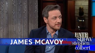 James McAvoy Says Saoirse Ronan Influenced