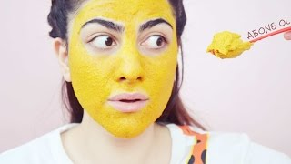 EN İYİ SİVİLCE MASKESİ, DIY FACE MASK | HOW TO GET CLEAR SKIN WITH TURMERIC