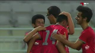 هدف المباراة :  الدحيل 1 - 0 العربي 2018-3-16 دوري الشباب U17