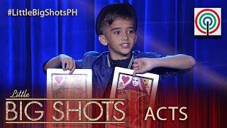 Little Big Shots Philippines: George   11-year-old Comedy Close Up Magician