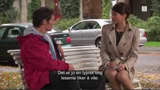 Jean-Michel blir intervjuet
