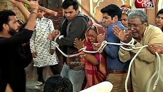 Unique welcome of Rathi family by UmaShankar in Tu Sooraj Main Saanjh Piyaji.