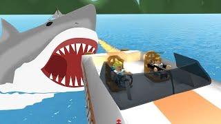 SHARK ATTACK IN ROBLOX! / Shark Bite / Gamer Chad