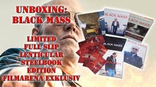 Unboxing - Black Mass - Full Slip Lenticular - Steelbook - Edition - Filmarena exklusiv