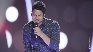 Julian Simonsz Sings Suit And Tie | The Voice Australia 2014
