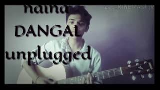 NAINA | DANGAL | ARIJIT SINGH | AAMIR KHAN | GUITAR cover by aman puranik