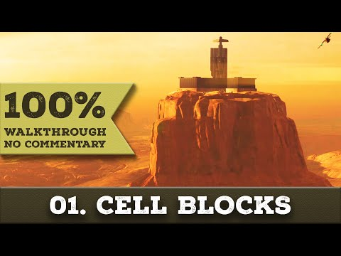 Deus Ex: Mankind Divided A Criminal Past Walkthrough (Pacifist,All Collectibles) part 1 CELL BLOCKS
