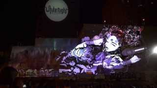 SOFLES | GRAFFITI MAPPED | Whole Projection Video | Melbourne White Night 2015