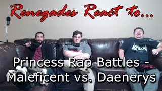 Renegades React to... Princess Rap Battles - Maleficent vs. Daenerys