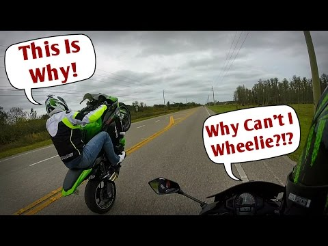 Why Can t I Wheelie The 1 Reason