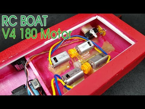 Xxx Mp4 How To Make RC Boat With V4 180 Motor 3gp Sex