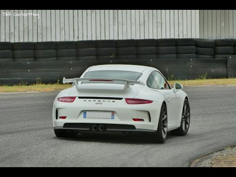 10 minutes of PURE Sound of Porsche 991 GT3 on Track !