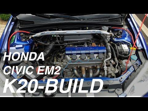 Civic EM2 K20 Swap EP. 01 Engine Removal