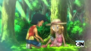 Pokemon - Ash meets Serena (during childhood)