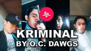 KRIMINAL FULL SONG MUSICAL.LY (REMAKE) |  JIRO MORATO