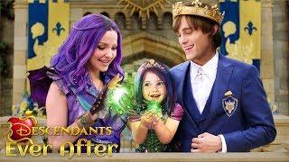 Descendants 3 Ever After: Mal and Ben have a daughter! The Princess of Auradon 💜💚   Alice Edit!