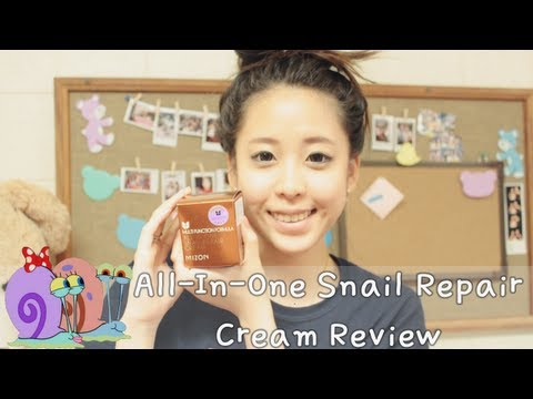 Mizon All-In-One Snail Repair Cream Review (Peach and Lily)