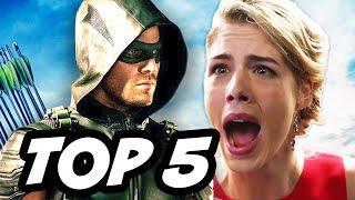 Arrow Season 4 Episode 10 - TOP 5 WTF and Easter Eggs