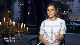 Emma Watson - Beauty and the Beast Preview interview #1