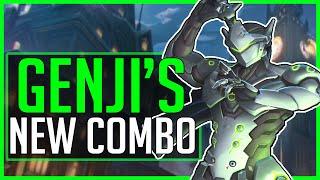 GENJI'S NEW COMBO - Overwatch
