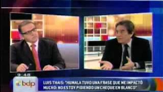 Dirigente de Perú Posble Luis Tahis en Buenos Días Perú