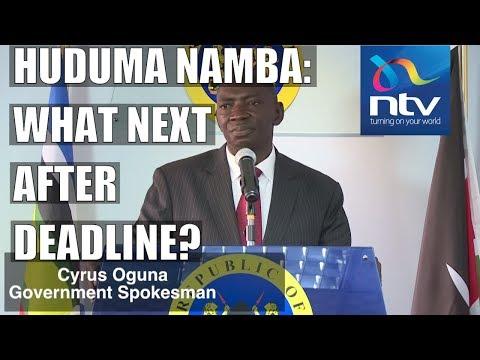 Xxx Mp4 Huduma Namba Govt Spokesman Oguna Explains What Will Happen After Deadline 3gp Sex