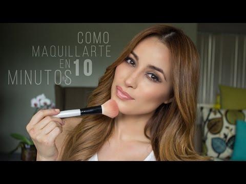 Cynthia Como maquillarte en 10 minutos