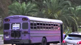 John Bel Edwards Party Bus Forced To Move By Election Officials