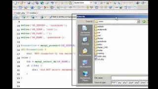 برمجة سكربت دفتر زوار PHP - MySQL - XHTML - CSS - Java Script ج2