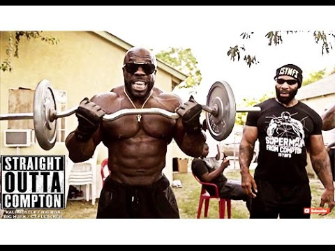 Straight Outta Compton HOOD WORKOUT Kali Muscle CT Fletcher Big Rob Big Hurk