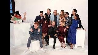 'Modern Family' Cast Gets Scare from Ellen
