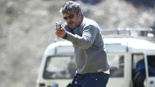Thala Ajith's stunt scene in Arrambam (Hindi Dubbed) 'Player Ek Khiladi'