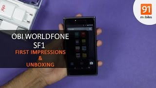 OBI Worldphone SF1: First Look | Hands on | Price
