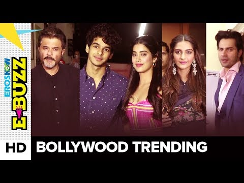 B-town Celebrities Snapped At A Screening   Bollywood News   ErosNow eBuzz