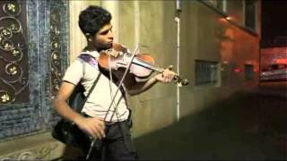 Violinist in the street-Iranian  PART II