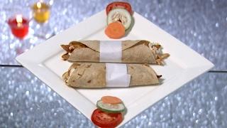 Dhe Ruchi I Ep 77 - Grilled Chicken Wrap Recipe I Mazhavil Manorama
