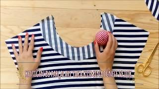 Nasıl Yapılır? - Basic Elbise / How To Sew a Basic Dress?