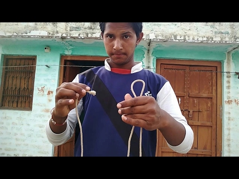 रस्सि के 2 जादू सीखे 2 Magics with Rope magic tricks revealed: in Hindi