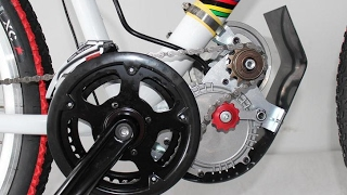 Make an Electric Bike -  My first homemade simple electric bike max speed 35km- part 2