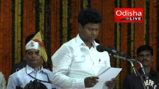 Pranab Prakash Das - Minister - Oath Taking - Odisha Assembly 2014