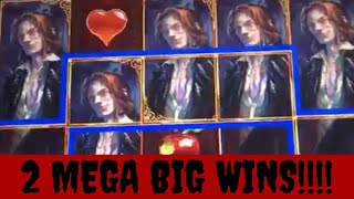 Vampire's Embrace - TWO MEGA BIG WINS! and several other big win bonuses
